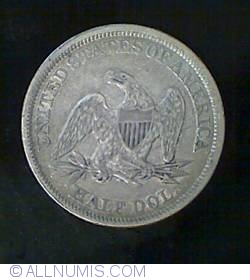 Image #2 of Half Dollar 1842 (medium date)