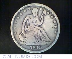 Image #1 of Half Dollar 1845 O ( no drapery )