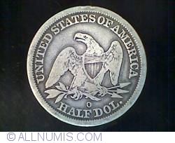 Image #2 of Half Dollar 1845 O ( no drapery )