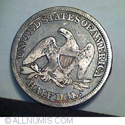 Image #2 of Half Dollar 1846 ( Tall Date )