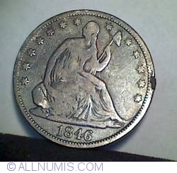 Image #1 of Half Dollar 1846 ( Tall Date )