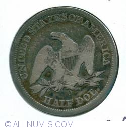 Image #2 of Half Dollar 1854 O