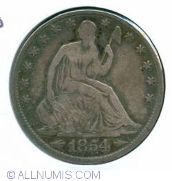 Image #1 of Half Dollar 1854 O