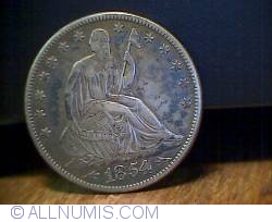 Image #1 of Half Dollar 1854