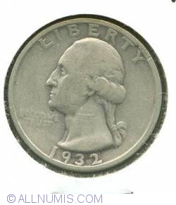 Image #1 of Washington Quarter 1932 S