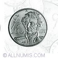 Imaginea #2 a 100 Forint 1990 - Andras Fay - Aniversarea de 150 de ani de la infiintarea Bancii de Economii din Pesta