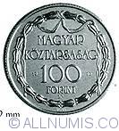Imaginea #1 a 100 Forint 1990 - Teatrul Maghiar