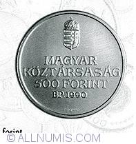 Imaginea #1 a 500 Forint 1990 - Aniversarea de 200 ani de la nasterea lui Ferenc Kolcsey