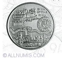 Imaginea #2 a 500 Forint 1990 - Cele doua capitale ale lui Matei Corvin