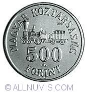 Imaginea #1 a 500 Forint 1991 - Aniversarea de 200 ani de la nasterea Contelui Szechenyl