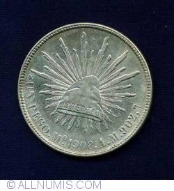 Image #1 of 1 Peso 1908 Mo AM