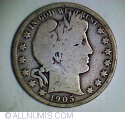 Image #1 of Half Dollar 1905