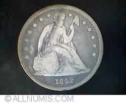 Image #1 of Seated Liberty Dollar 1842