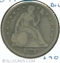 Image #1 of Seated Liberty Dollar 1871