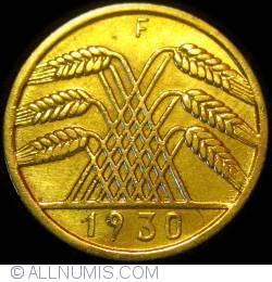 Image #2 of 10 Reichspfennig 1930 F