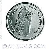 Imaginea #2 a 100 Forint 1991 - Cu ocazia vizitei lui Ioan Paul Al II-lea in Ungaria