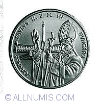 Imaginea #2 a 500 Forint 1991 - Cu ocazia vizitei lui Ioan Paul Al II-lea in Ungaria