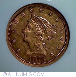 Image #1 of Gold Quarter Eagle 1873 S