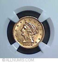 Image #1 of Gold Quarter Eagle 1905