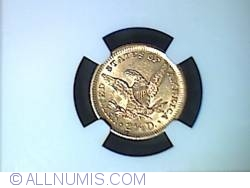 Image #2 of Gold Quarter Eagle 1905