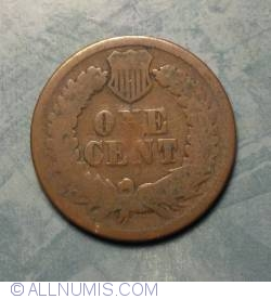 Image #2 of Indian Head Cent 1868