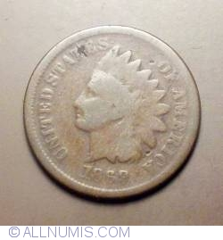 Image #1 of Indian Head Cent 1869