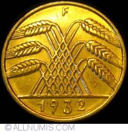 Image #2 of 10 Reichspfennig 1932 F