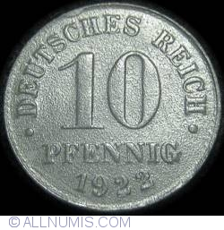 Image #1 of 10 Pfennig 1922
