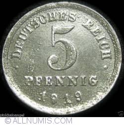 Imaginea #1 a 5 Pfennig 1919 E