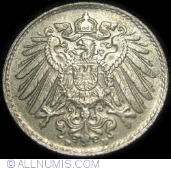Image #2 of 5 Pfennig 1922 D