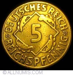 Image #1 of 5 Reichspfennig 1924 G