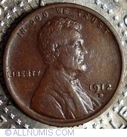 Image #1 of Lincoln Cent 1912 D