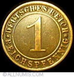 Image #1 of 1 Reichspfennig 1924 J