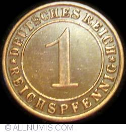 1 Reichspfennig 1933 A