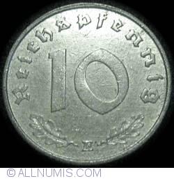 Image #2 of 10 Reichspfennig 1943 E