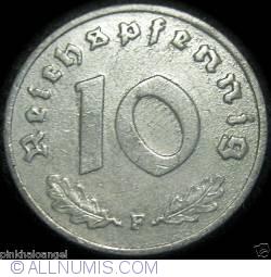 Image #1 of 10 Reichspfennig 1943 F