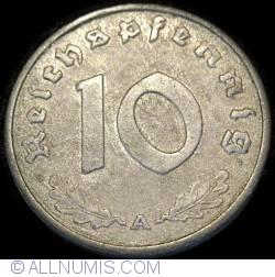 Image #1 of 10 Reichspfennig 1944 A
