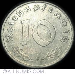 Image #1 of 10 Reichspfennig 1948 F
