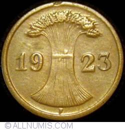 Image #2 of 2 Reichspfennig 1923 F