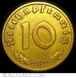 Image #1 of 10 Reichspfennig 1938 B