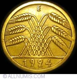 Image #2 of 5 Reichspfennig 1924 E
