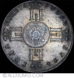 Imaginea #1 a 1 Rubla 1796 СПб СLF