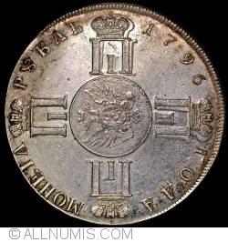 Imaginea #1 a 1 Rubla 1796  СПБ