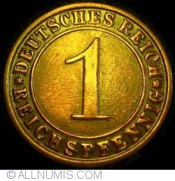 Image #1 of 1 Reichspfennig 1928 D