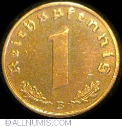 Image #1 of 1 Reichspfennig 1939 B
