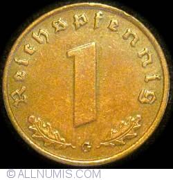 Image #1 of 1 Reichspfennig 1939 G