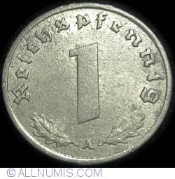Image #1 of 1 Reichspfennig 1943 A