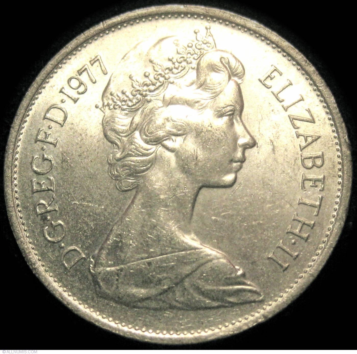 10 New Pence 1977, Elizabeth II (1952-present) - Great Britain