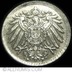Image #2 of 5 Pfennig 1921 F