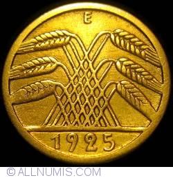 Image #2 of 5 Reichspfennig 1925 E